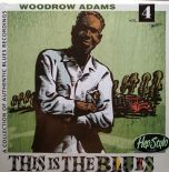 "LP ✦WOODROW ADAMS✦""This Is The Blues"" 50sTracks Most Unissued From Sun & Meteor"